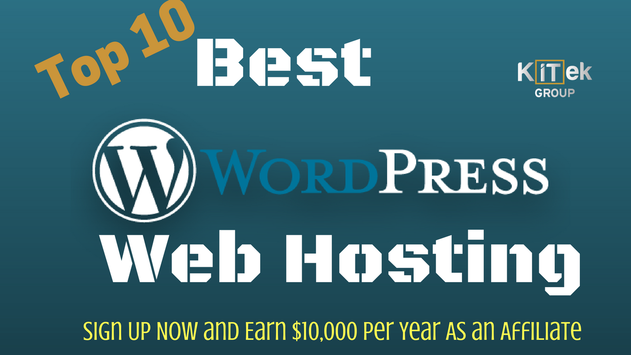 WordPress web Hosting 2018