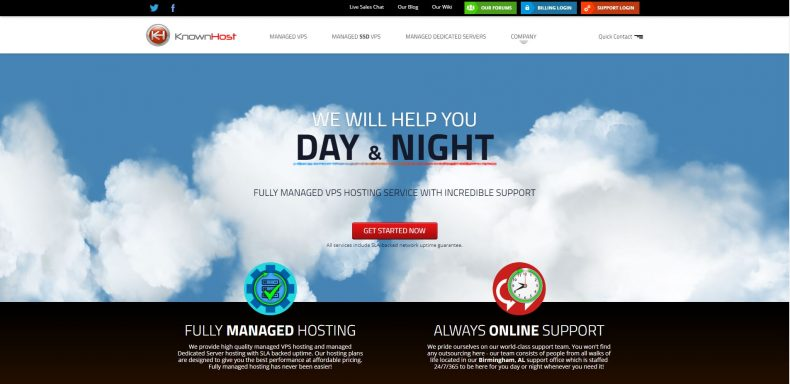 knownhost web hosting