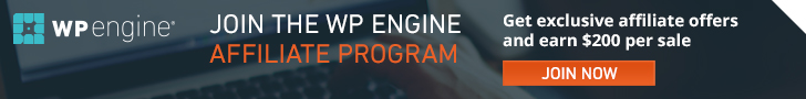 wpengine affiliate program signup