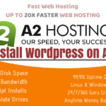 How to install wordpress on a2hosting